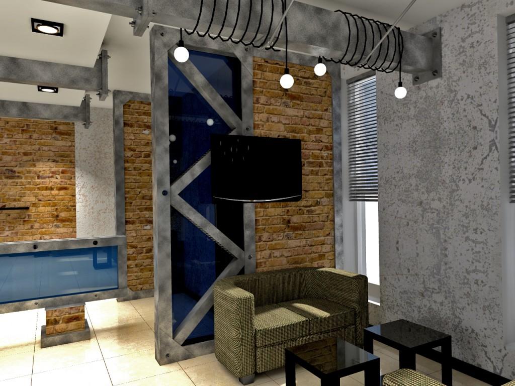 Дизайн интерьера кафе в Волжском