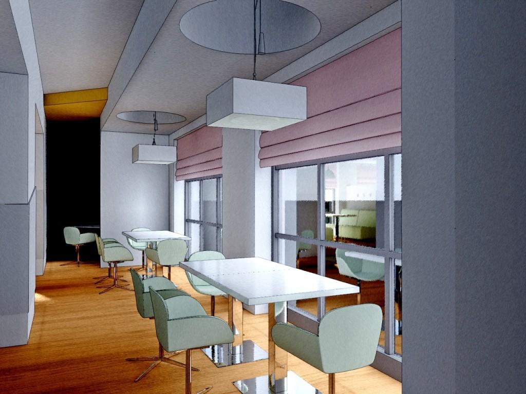 Дизайн интерьера ресторана в Волжском