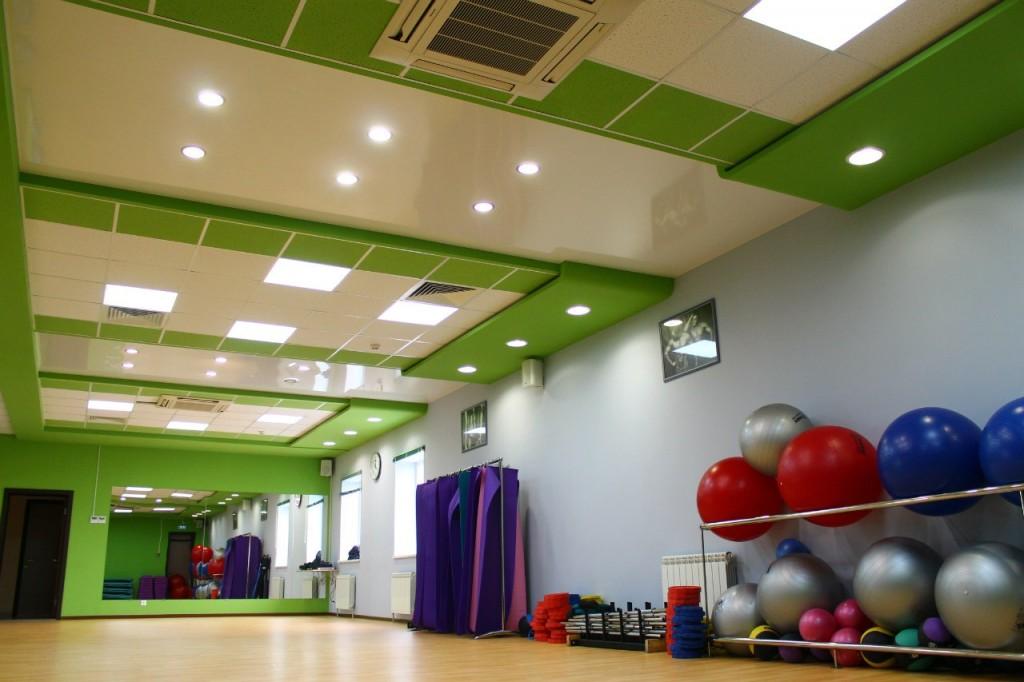 Дизайн интерьера фитнес центра Эскимо в Волжском Волгоградской области