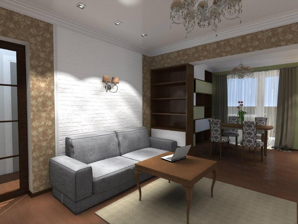 Дизайн проект интерьера квартиры в Волгограде
