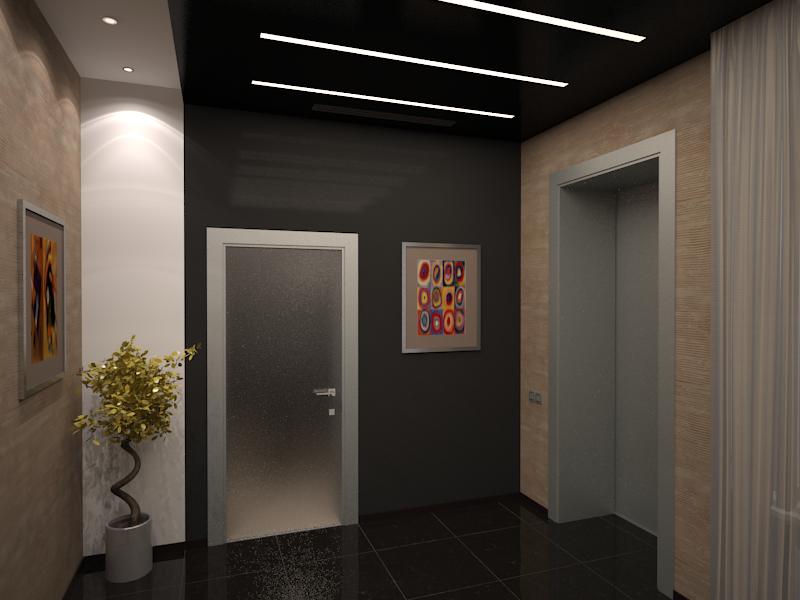 Дизайн проект офиса банка 2
