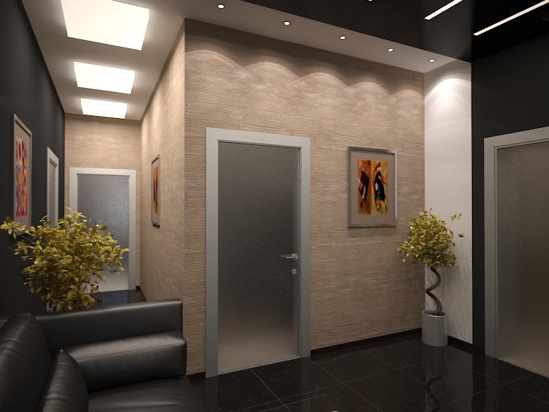 Дизайн проект офиса банка 3