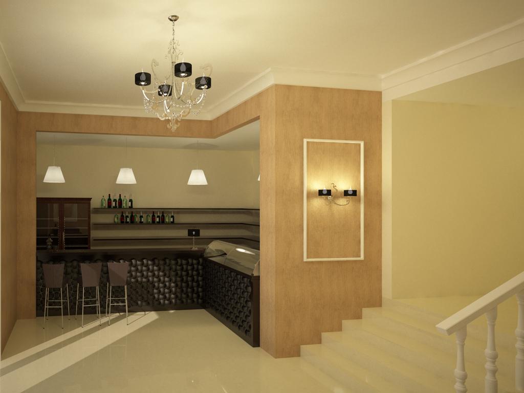 Дизайн интерьера ресторана в Волгограде