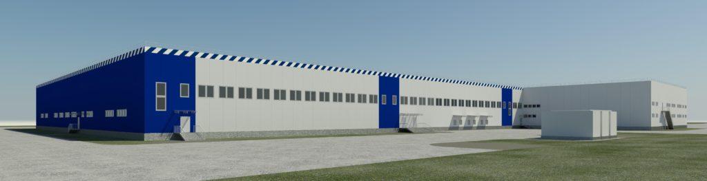 Проект логистического почтового центра в Санкт-Петербурге